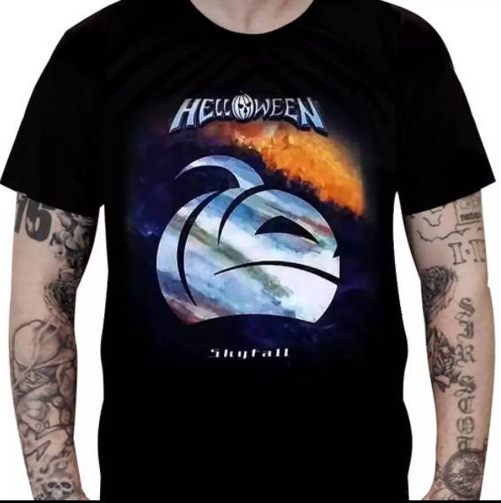 Camiseta Helloween - Skyfall