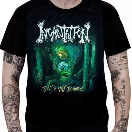 Camiseta Incantation - Sect of Vile Divinities