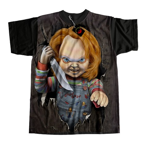 Camiseta infantil Chucky