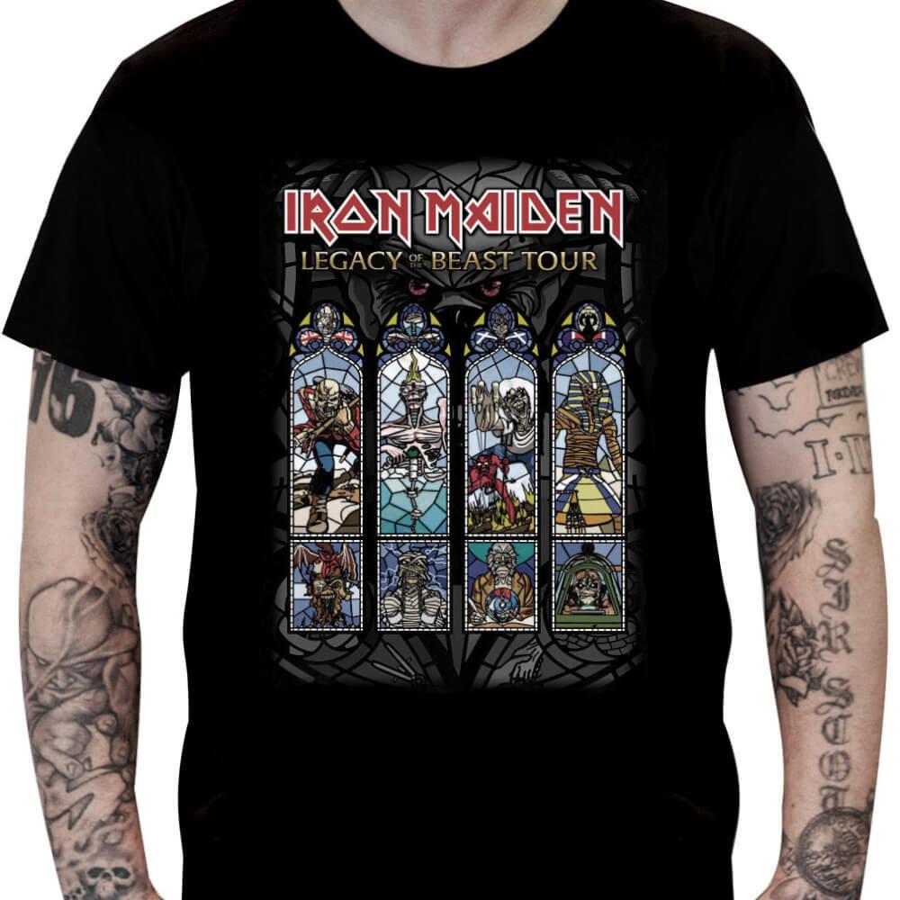 Camiseta IRON MAIDEN - Legacy of the Beast Tour