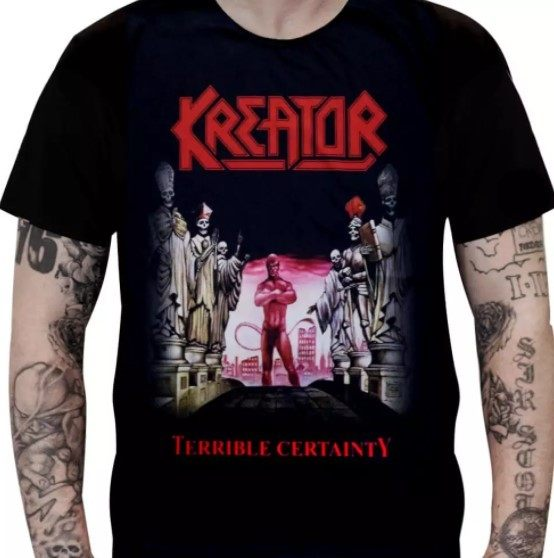 Camiseta Kreator - Terrible Certainty