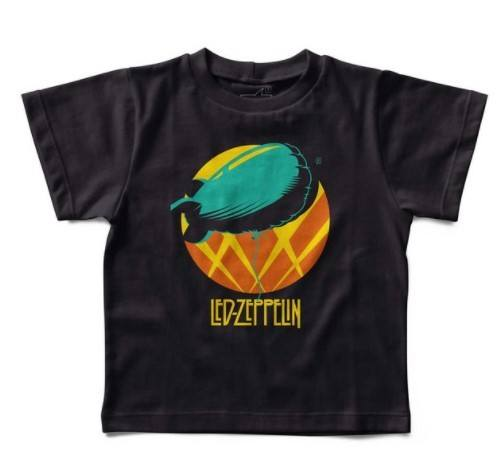 Camiseta Led Zeppelin Balão, Let's Rock Baby