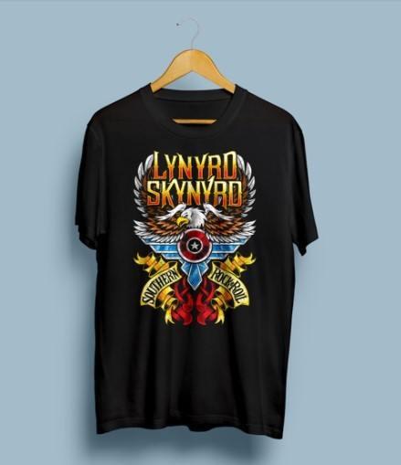 Camiseta Lynyrd Skynyrd - Vortex