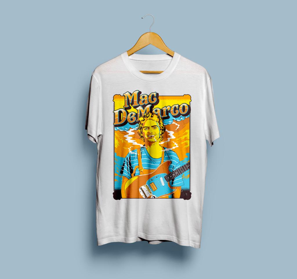 Camiseta Mac DeMarco - Vortex