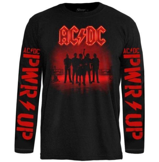 Camiseta Manga Longa AC/DC - Power Up