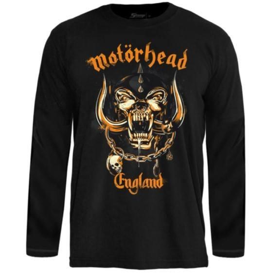 Camiseta Manga Longa Motörhead – England