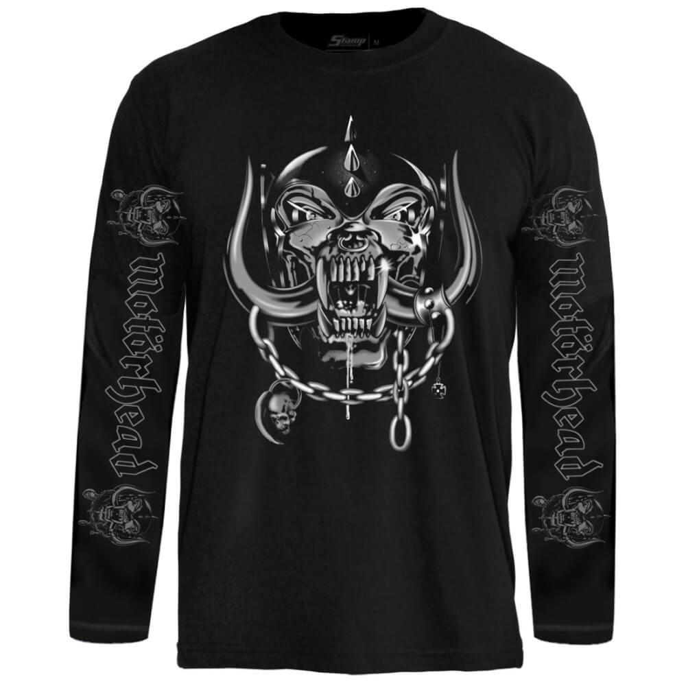 Camiseta Manga Longa Motörhead – Snaggletooth