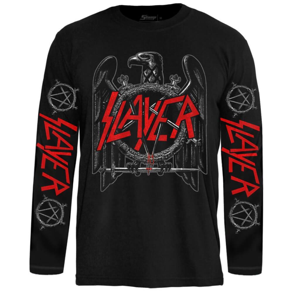 Camiseta Manga Longa Slayer – Eagle