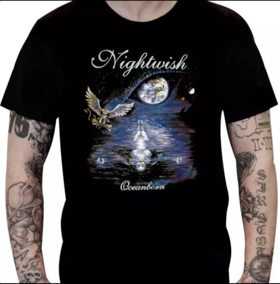 Camiseta Nightwish - Camiseta NIGHTWISH – Oceanborn