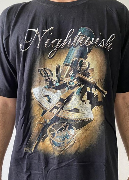 Camiseta Nightwish Tour 2015 - Peça Única GG
