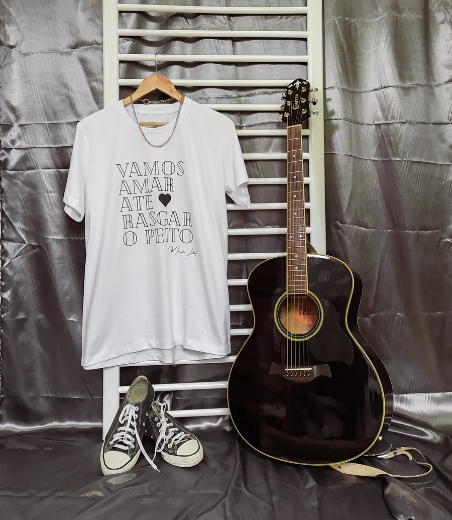 Camiseta Nós - Branca Unissex