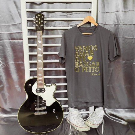 Camiseta Nós - Chumbo Unissex