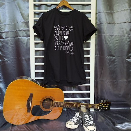 Camiseta Nós - Preta Unissex