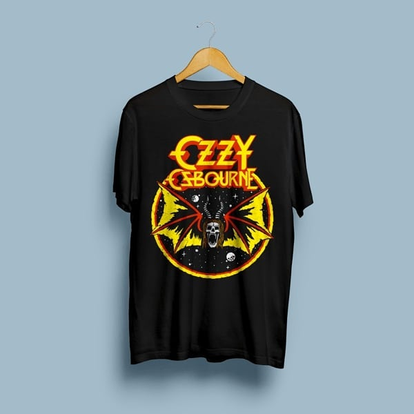 Camiseta Ozzy Osbourne - Vortex