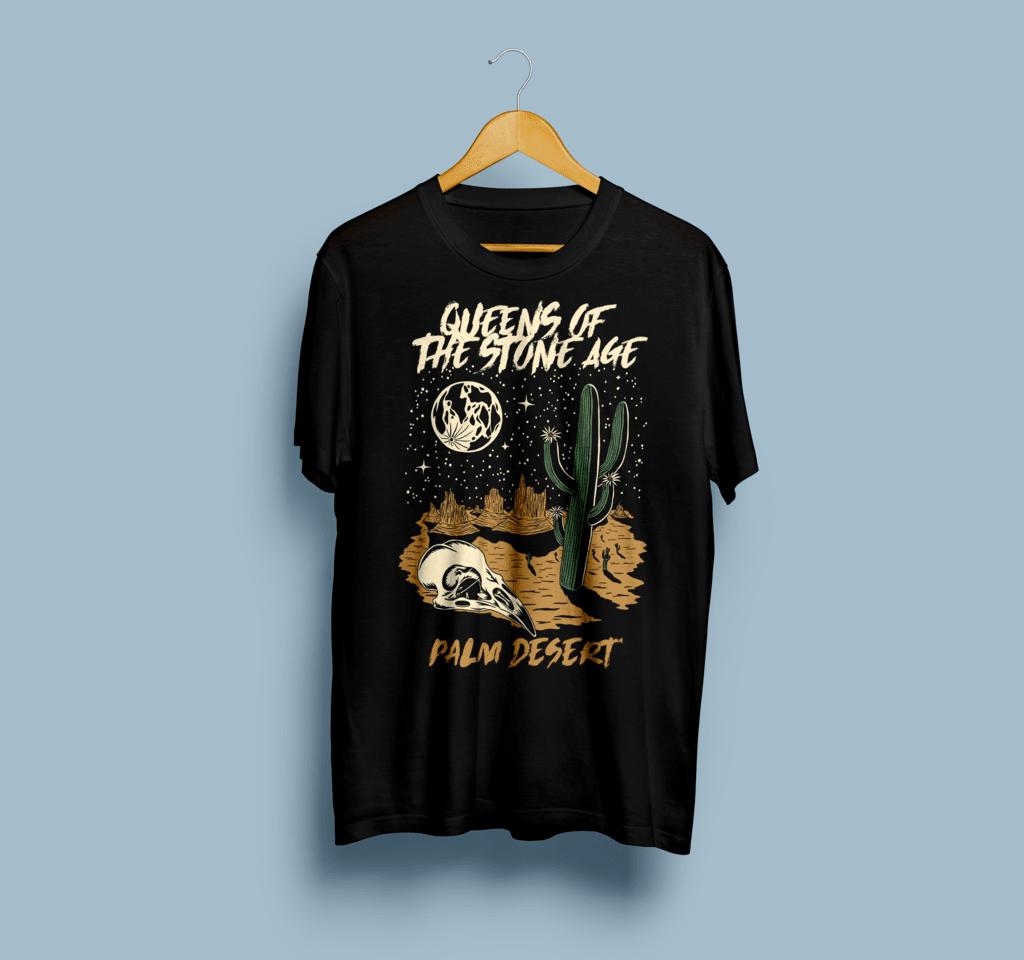 Camiseta Queens Of The Stone Age QOTSA - Vortex