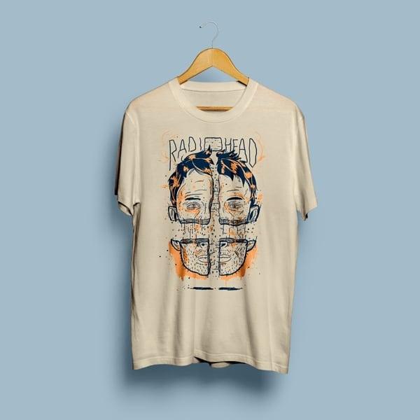 Camiseta Radiohead - Vortex