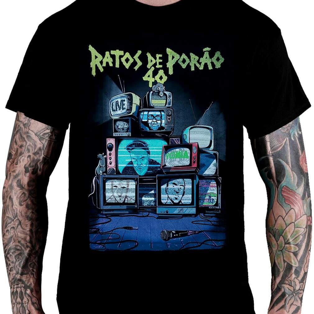 Camiseta RATOS DE PORÃO – 40