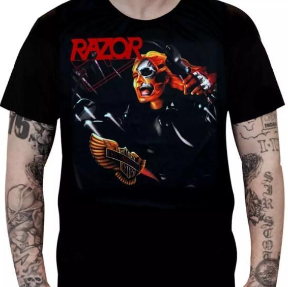 Camiseta Razor - Evil Invaders