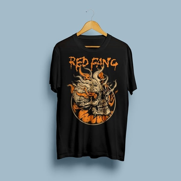 Camiseta Red Fang - Vortex