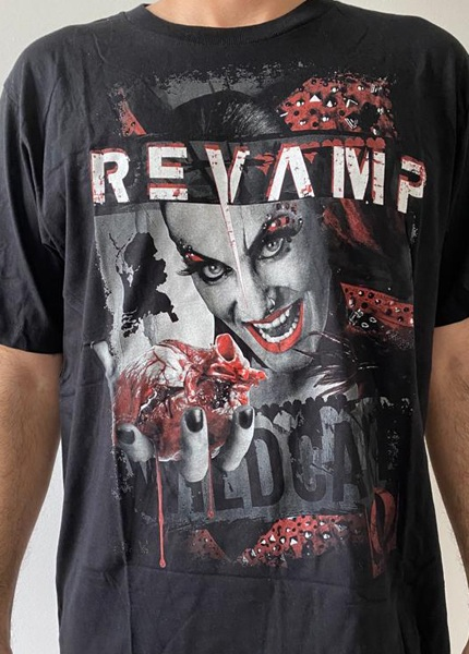 Camiseta Revamp Tour 2014