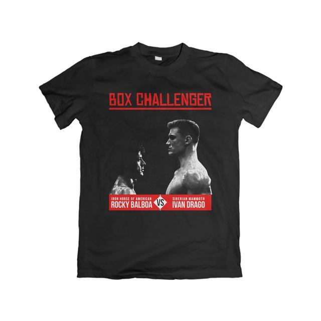 Camiseta Unissex Rocky Balboa x Ivan Drago - eFull Camisetas