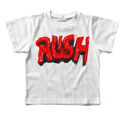 Camiseta Rush Handmade, Let's Rock Baby