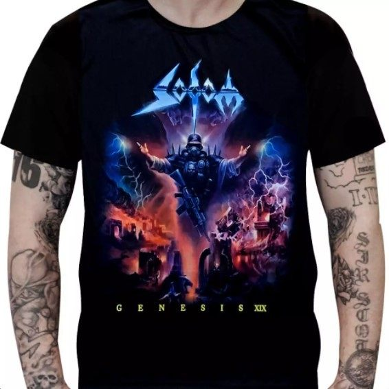 Camiseta Sodom - Genesis XIX