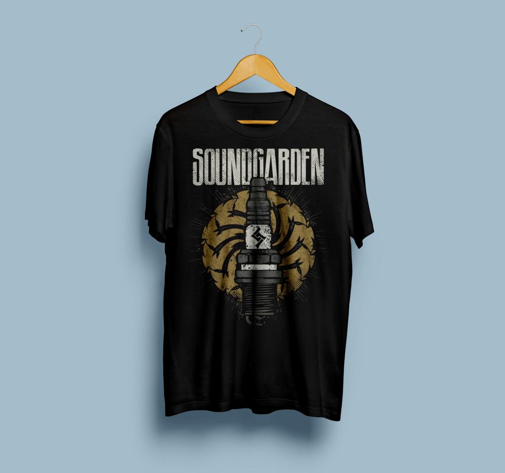 Camiseta Soundgarden - Vortex