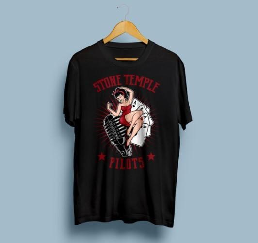 Camiseta Stone Temple Pilots - Vortex