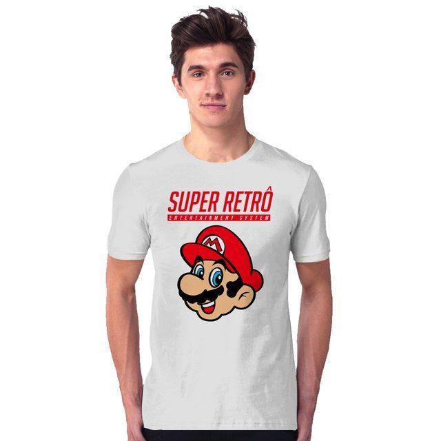 Camiseta Unissex Super Mario Bros - eFull Camisetas