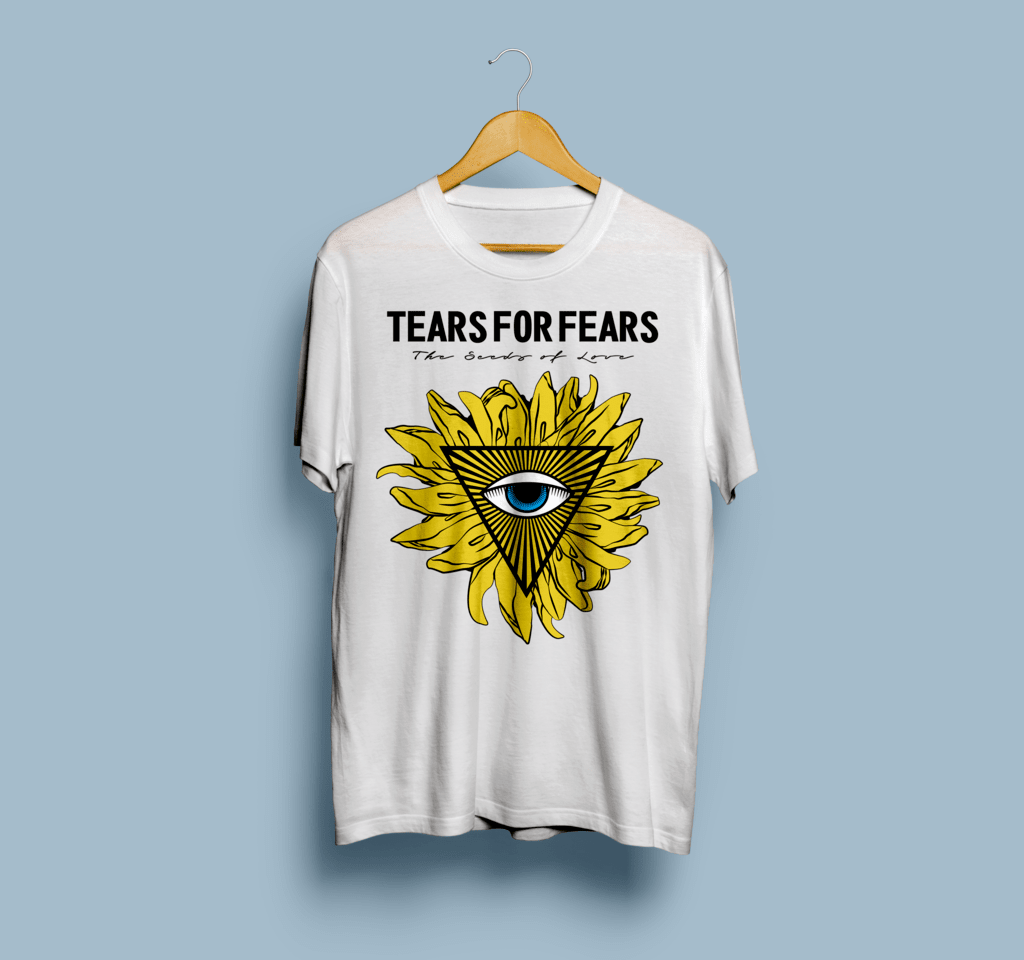 Camiseta Tears For Fears - Vortex