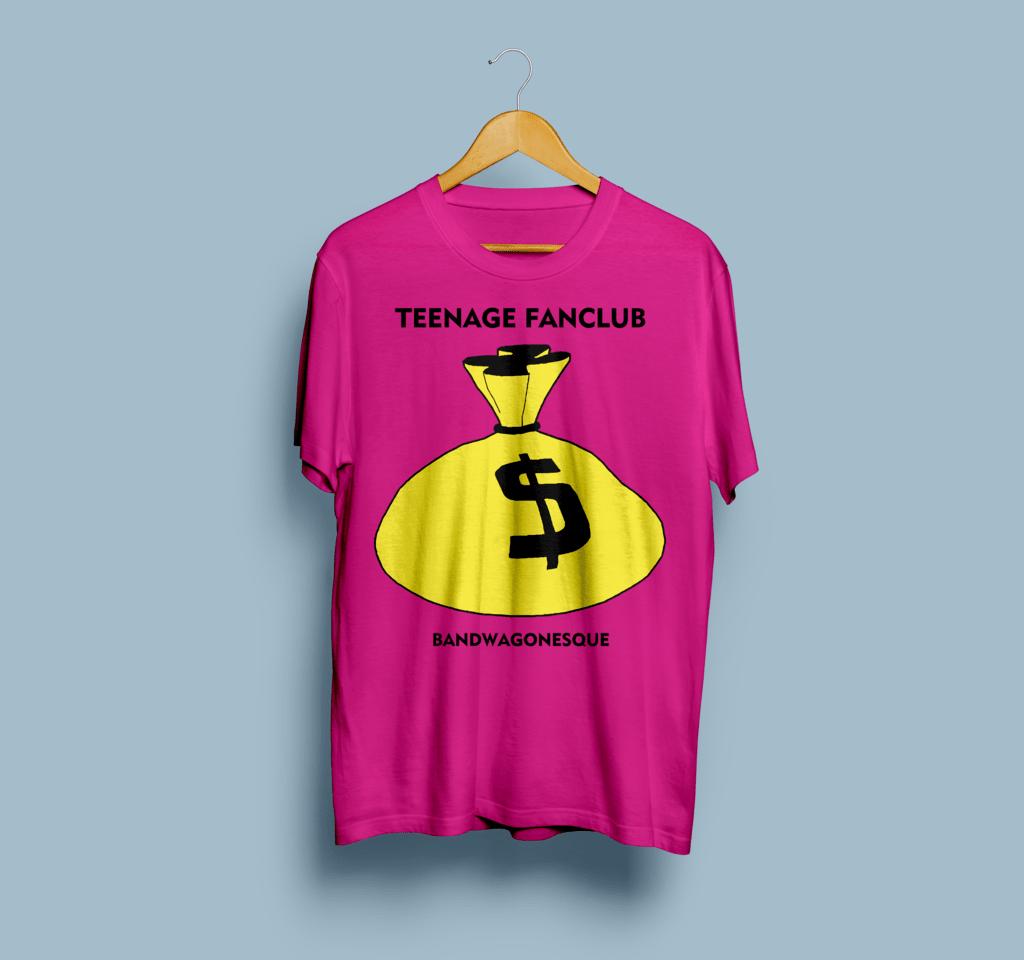 Camiseta Teenage Fanclub - Vortex