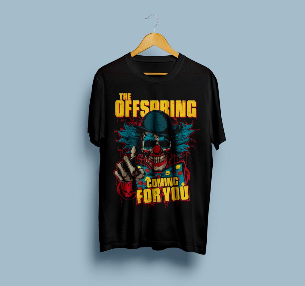 Camiseta The Offspring - Vortex
