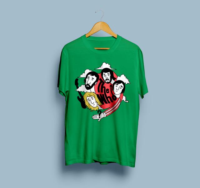 Camiseta The Who - Vortex
