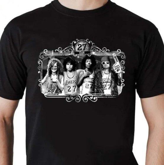Camiseta Unissex 27 Club