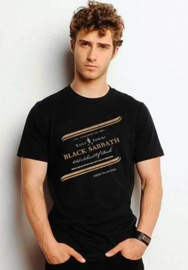 Camiseta Unissex Black Sabbath Black Label