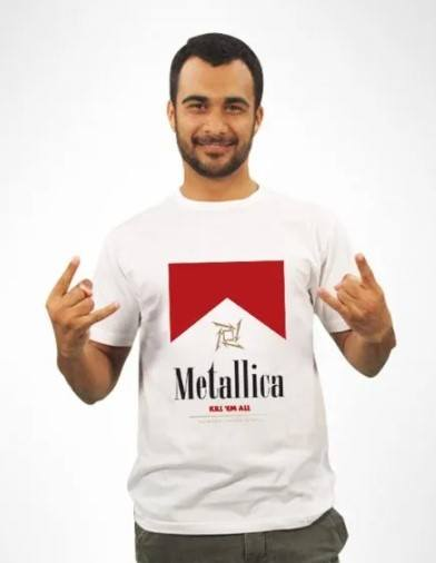 Camiseta Unissex Metallica Kill em All
