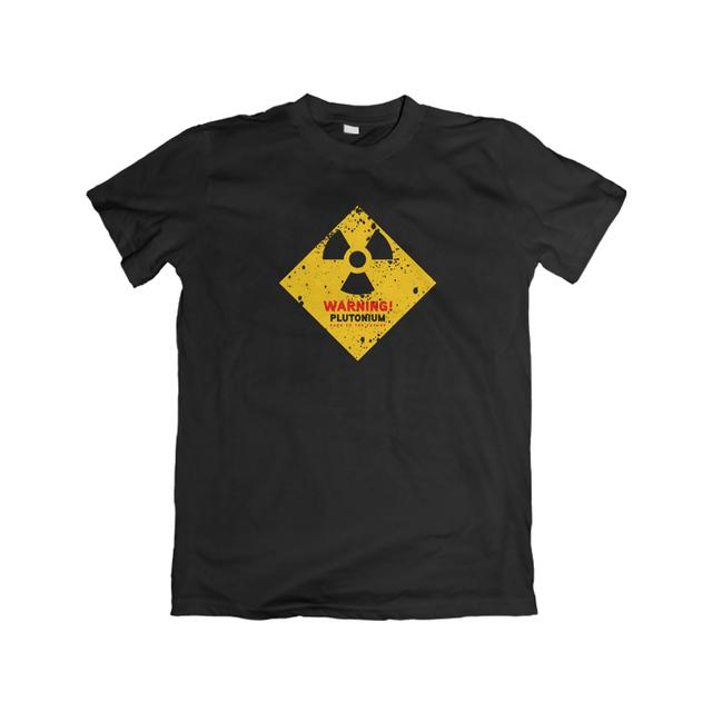 Camiseta Unissex Warning Plutônio BTTF - eFull Camisetas