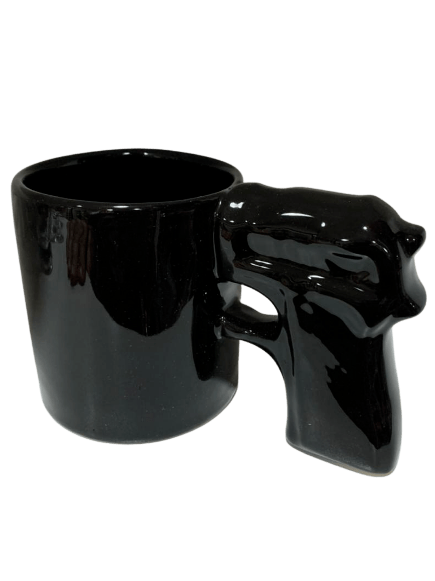 Caneca Cerâmica 3d Arma Pistola Criativa Free Fire Gamer
