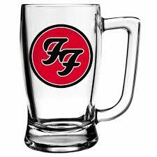 Caneca Foo Fighters Cerveja Beer Chopp Banda De Rock 340ml