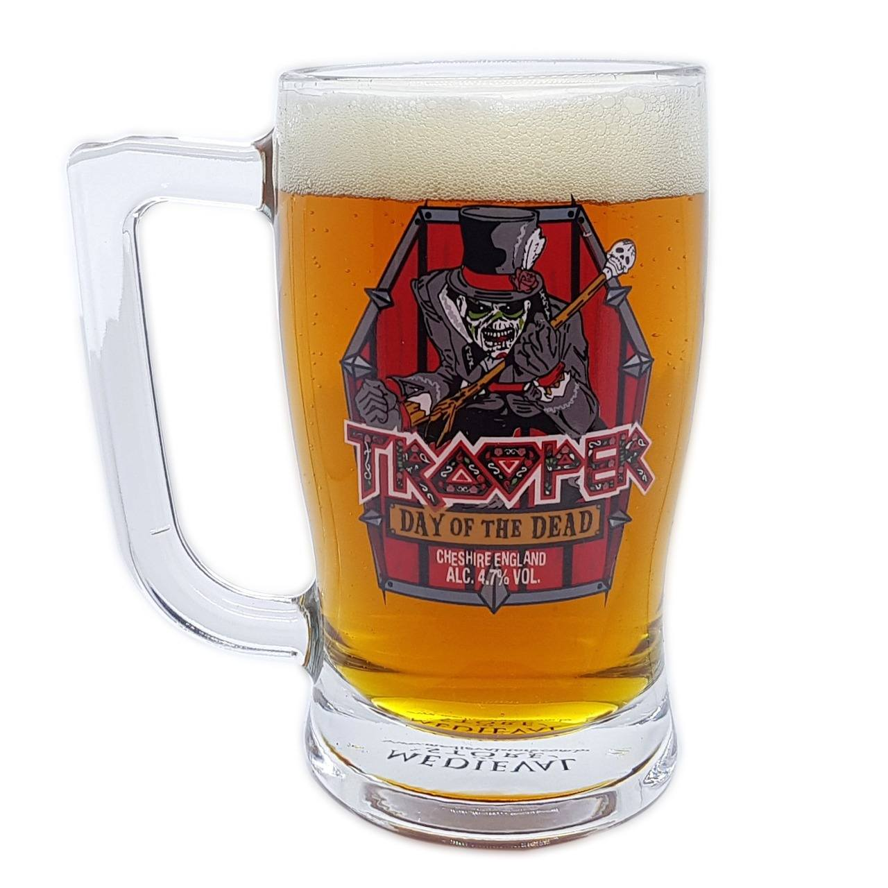 Caneca Iron Maiden Day Of The Dead Trooper Cerveja 340ml