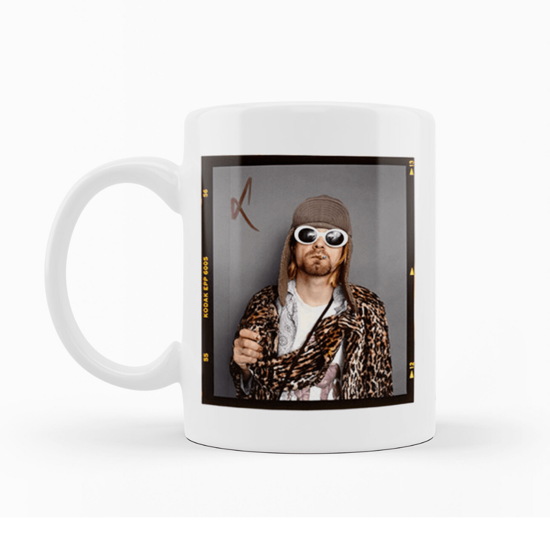 Caneca Kurt Cobain [NIRVANA] - My Mug Collection