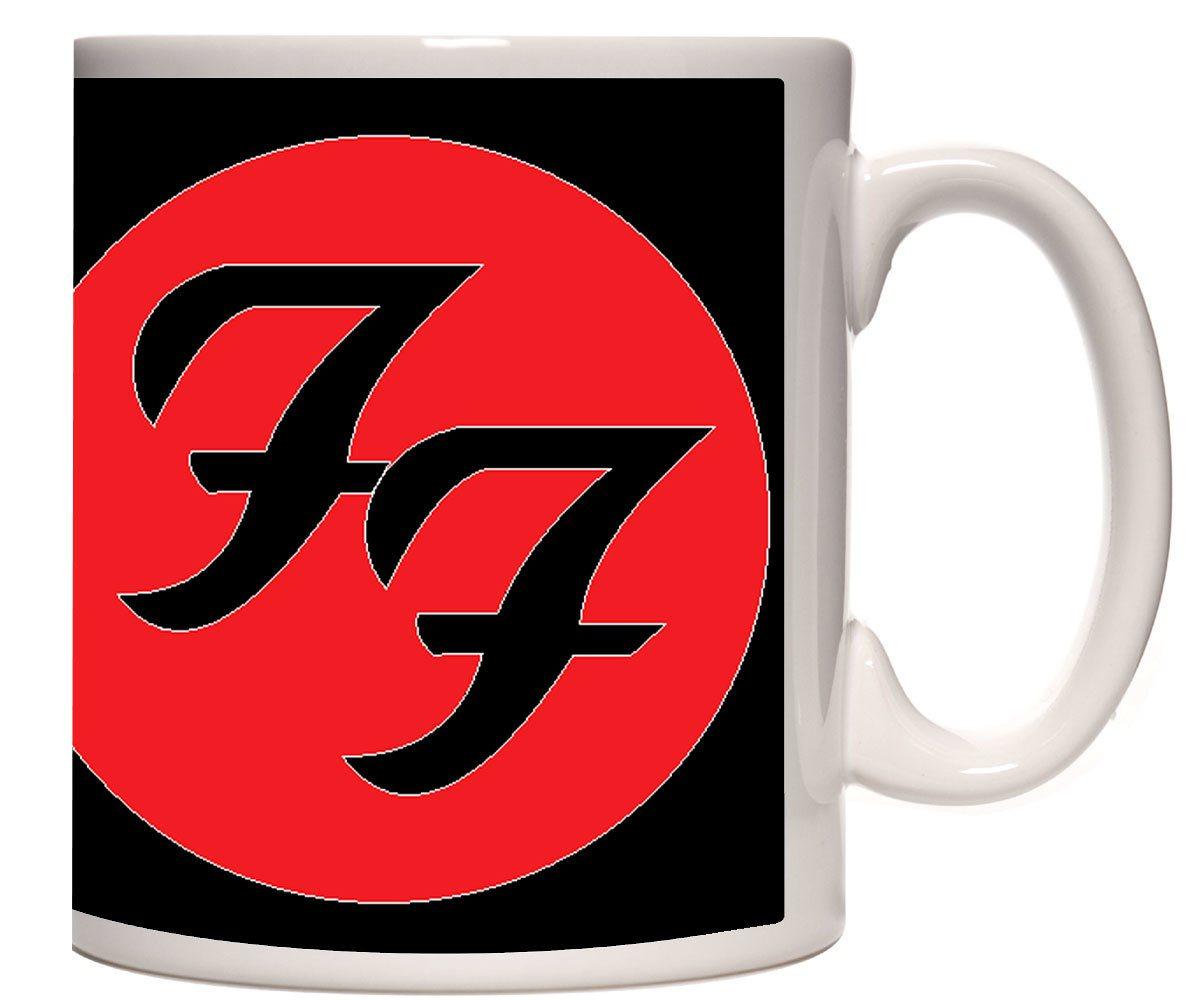 Caneca porcelana Foo Fighters logo
