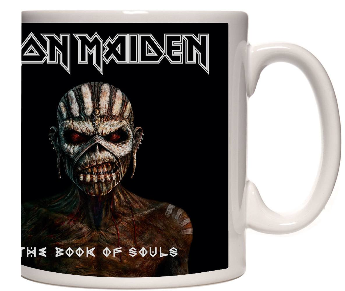 Caneca Porcelana Iron Maiden The Book Of Souls