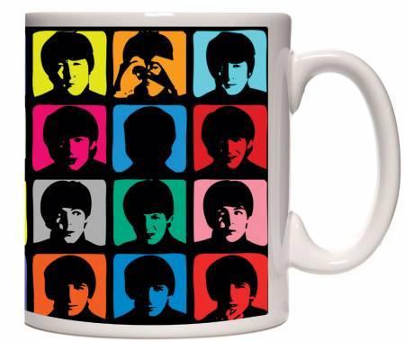 Caneca Porcelana The Beatles Hard Days Night