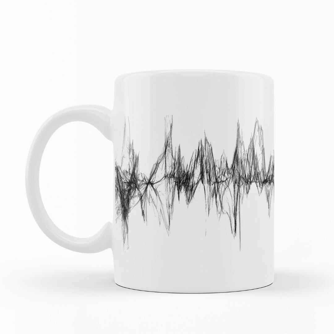 Caneca Sound Wave [MUSIC SOUND WAVE] - My Mug Collection