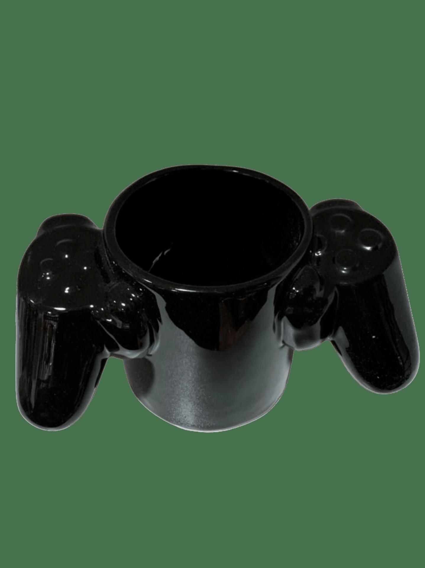Caneca Video Game Over Porcelana Criativa Controle Remoto