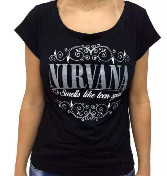Blusa Feminina Modelo Canoa  - Nirvana