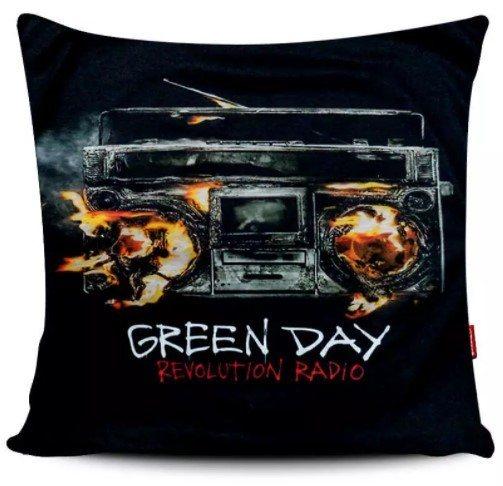 Capa de Almofada Green Day