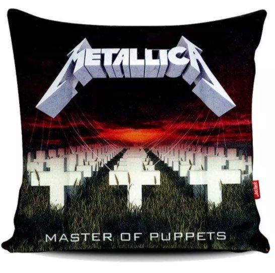 """Capa de Almofada Metallica - """"Master of Puppets"""""""